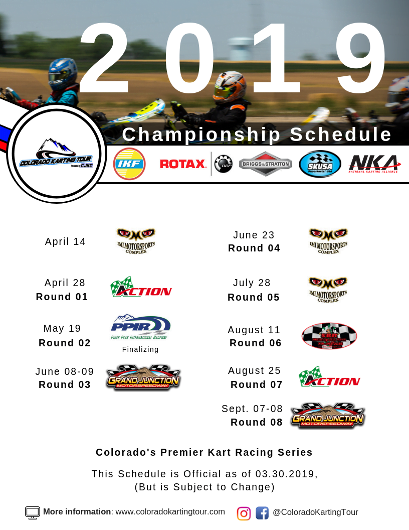 Starting Cost and Equipment – Colorado Karting Tour