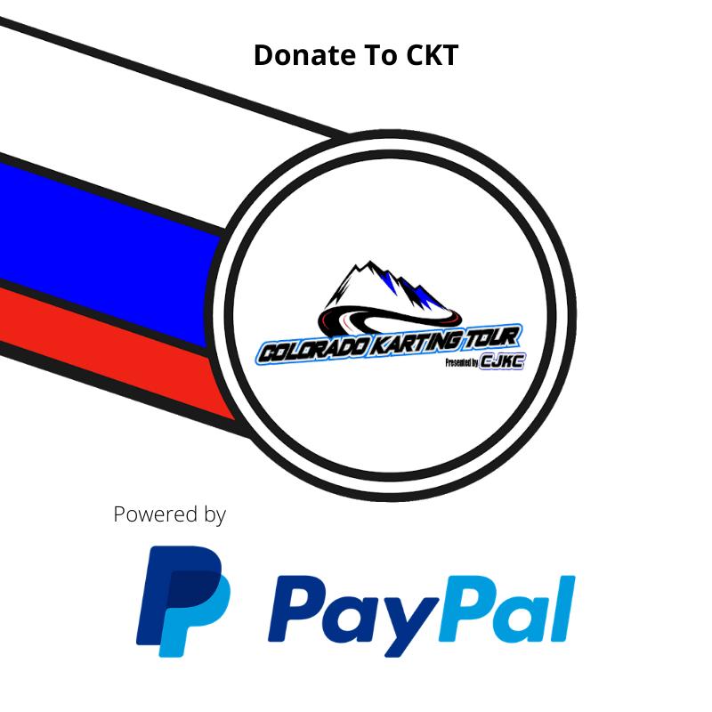 Colorado Karting Tour Donate Button