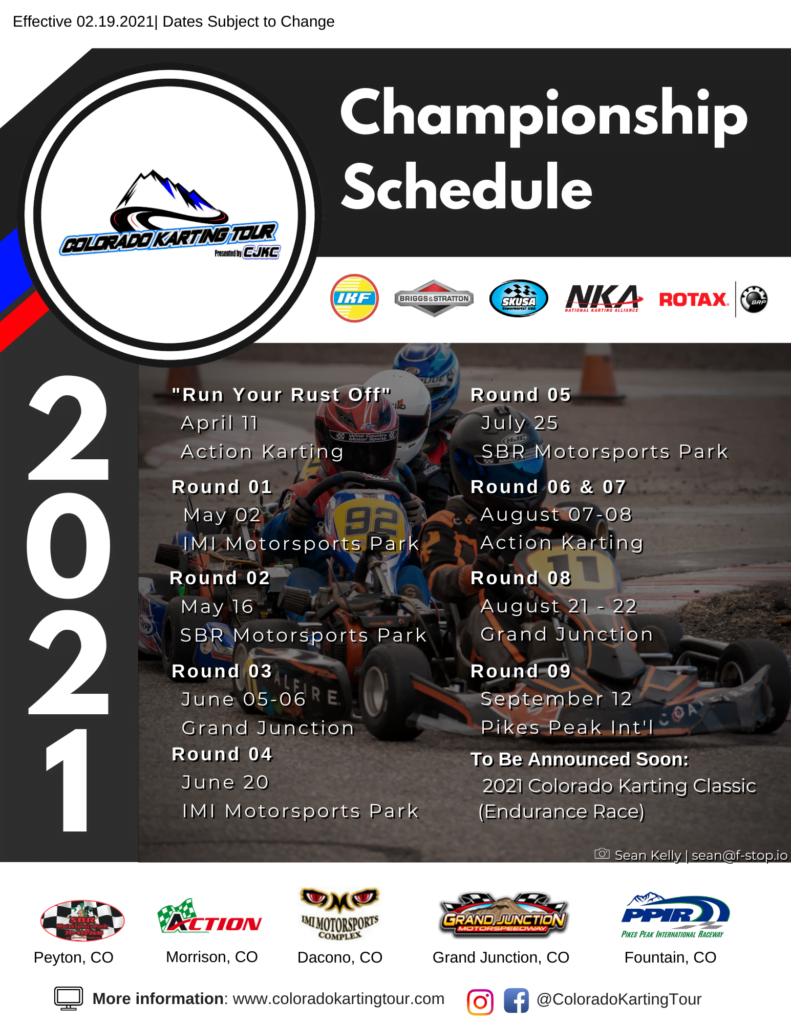 2021-CKT-Karting-Schedule